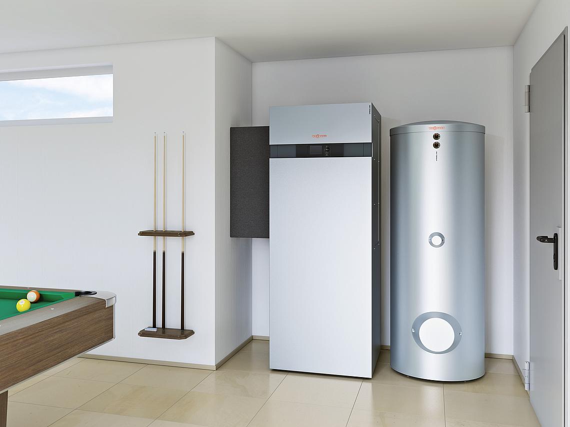 Luft Wasser Wärmepumpe Als Kompakt Gerät
