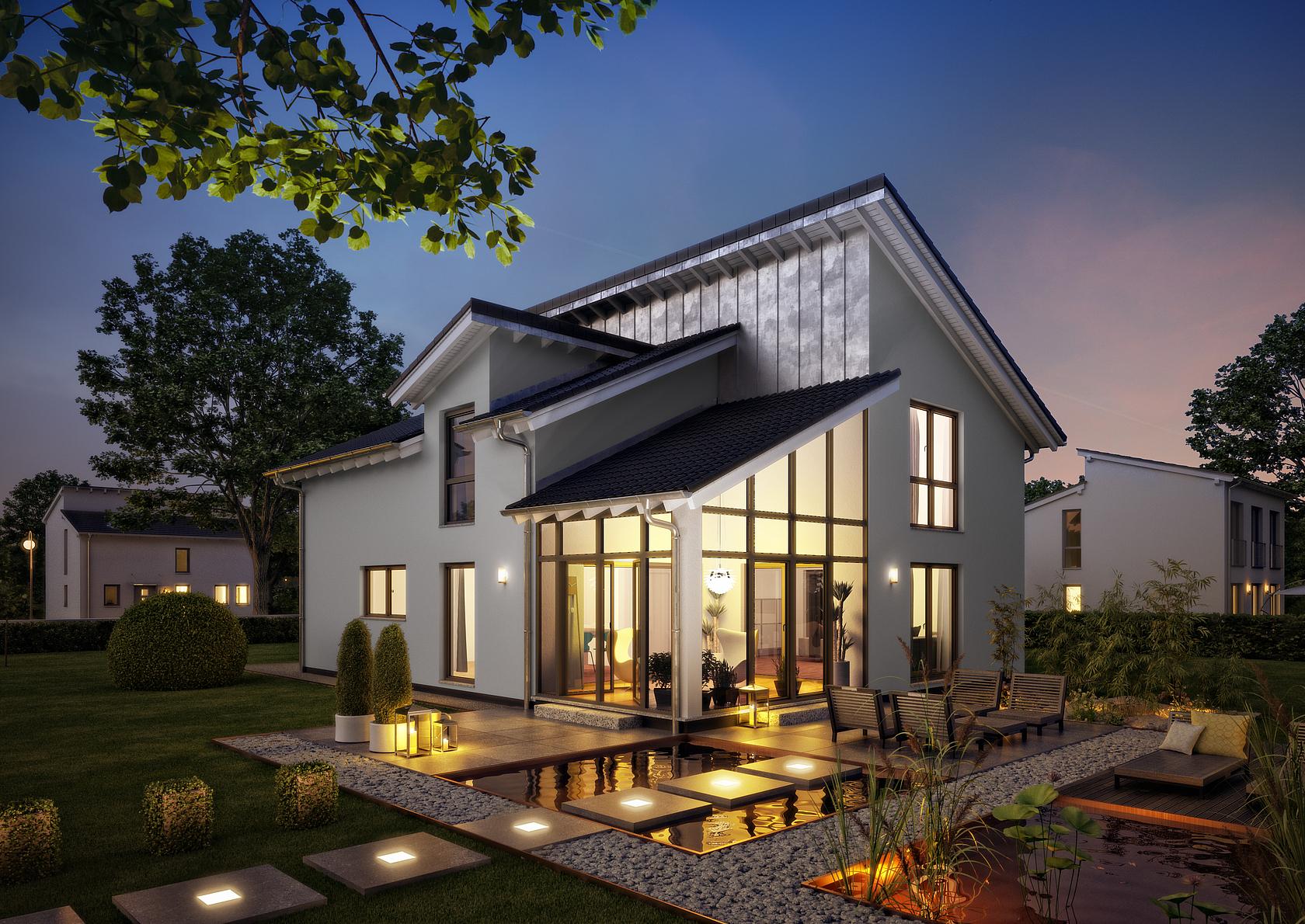 familienhaus akzent von kern haus individuelle extravaganz. Black Bedroom Furniture Sets. Home Design Ideas
