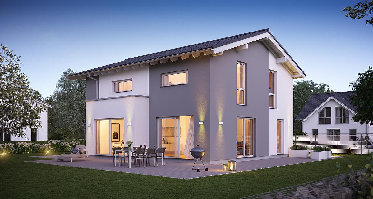 Haus bauen massiv  Massivhaus bauen - schlüsselfertige Häuser mit Kern-Haus
