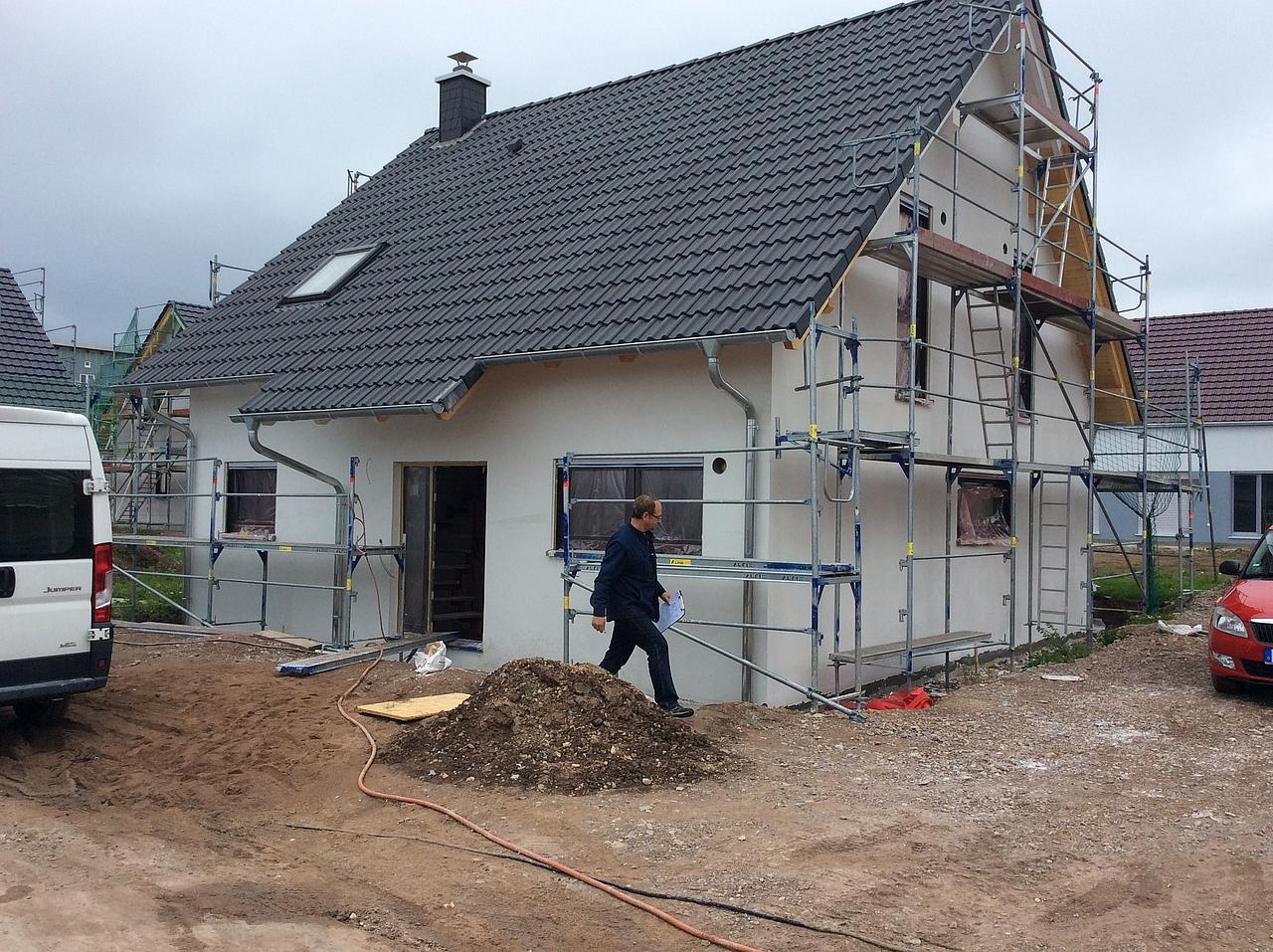 Bautagebuch Ein Wohntraum für zwei oder mehr