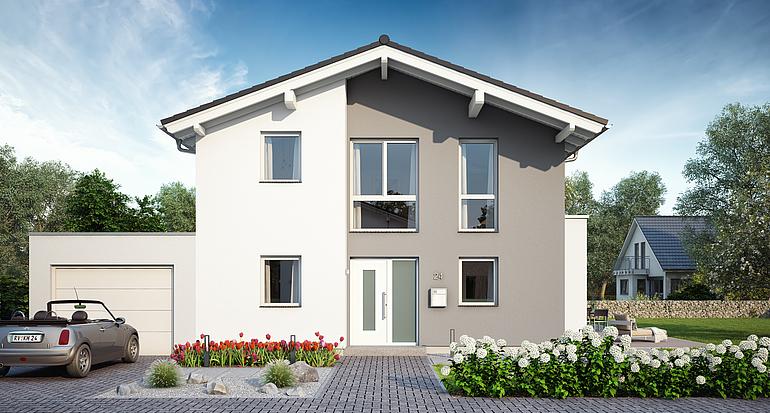 Massivhaus bauen schlüsselfertige Häuser mit Kern Haus