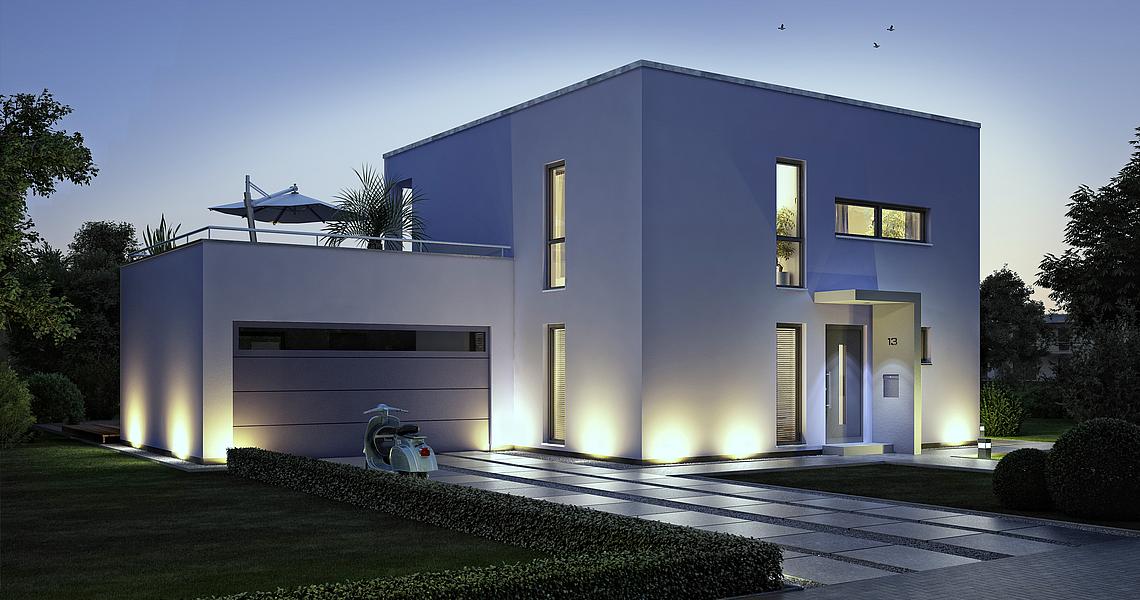 bauhaus novum von kern haus 2 platz traumhauspreis 2012. Black Bedroom Furniture Sets. Home Design Ideas