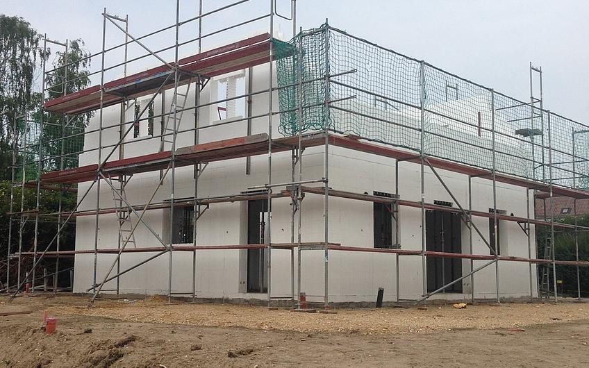 Bautagebuch Ein neues Kern Haus in Leipzig Hartmannsdorf