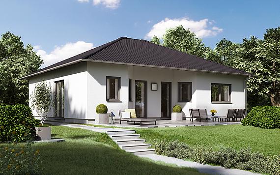 Einfamilienhaus bauen sie ihr eigenheim kern haus for Grundriss einfamilienhaus 2 vollgeschosse