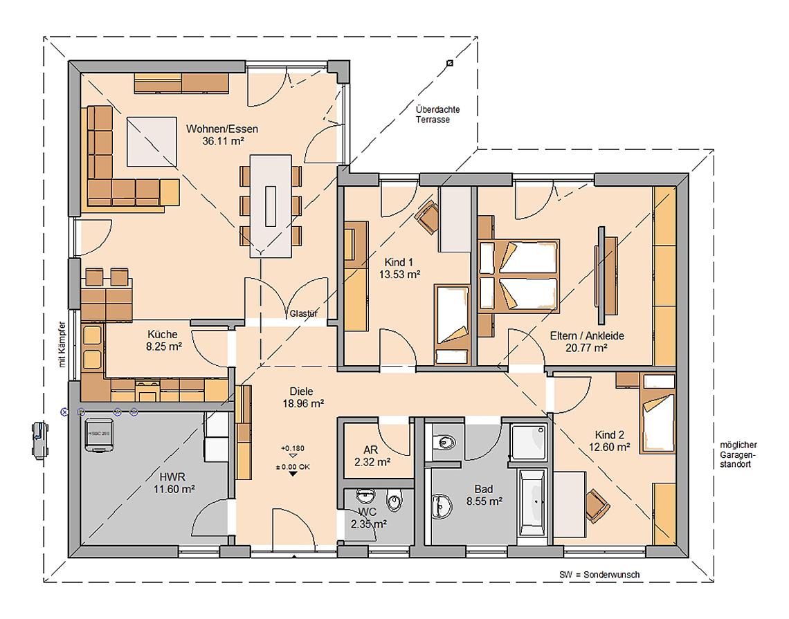 Der Grundriss Die Grundlage Fur Den Hausbau