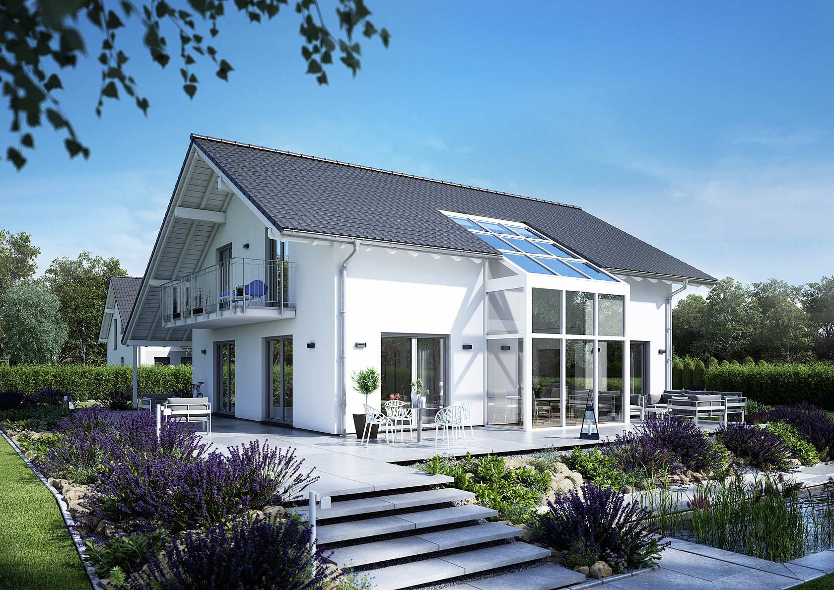 familienhaus luce von kern haus wintergarten. Black Bedroom Furniture Sets. Home Design Ideas