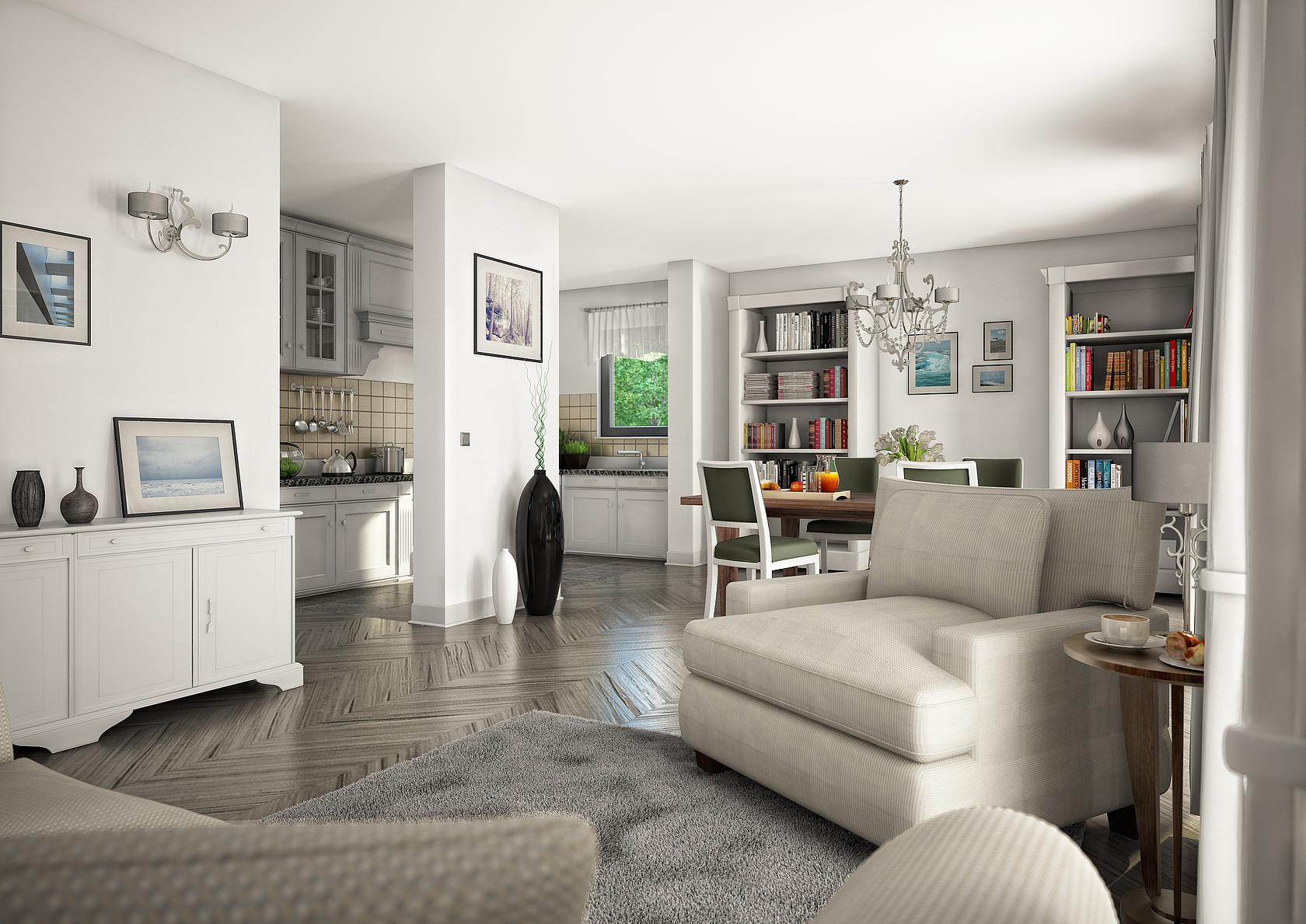 Familienhaus Komfort von Kern-Haus | Wählen Sie Ihre Gaube
