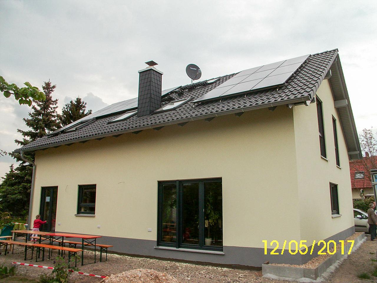 Bautagebuch Architektenhaus in Leipzig Lindenau