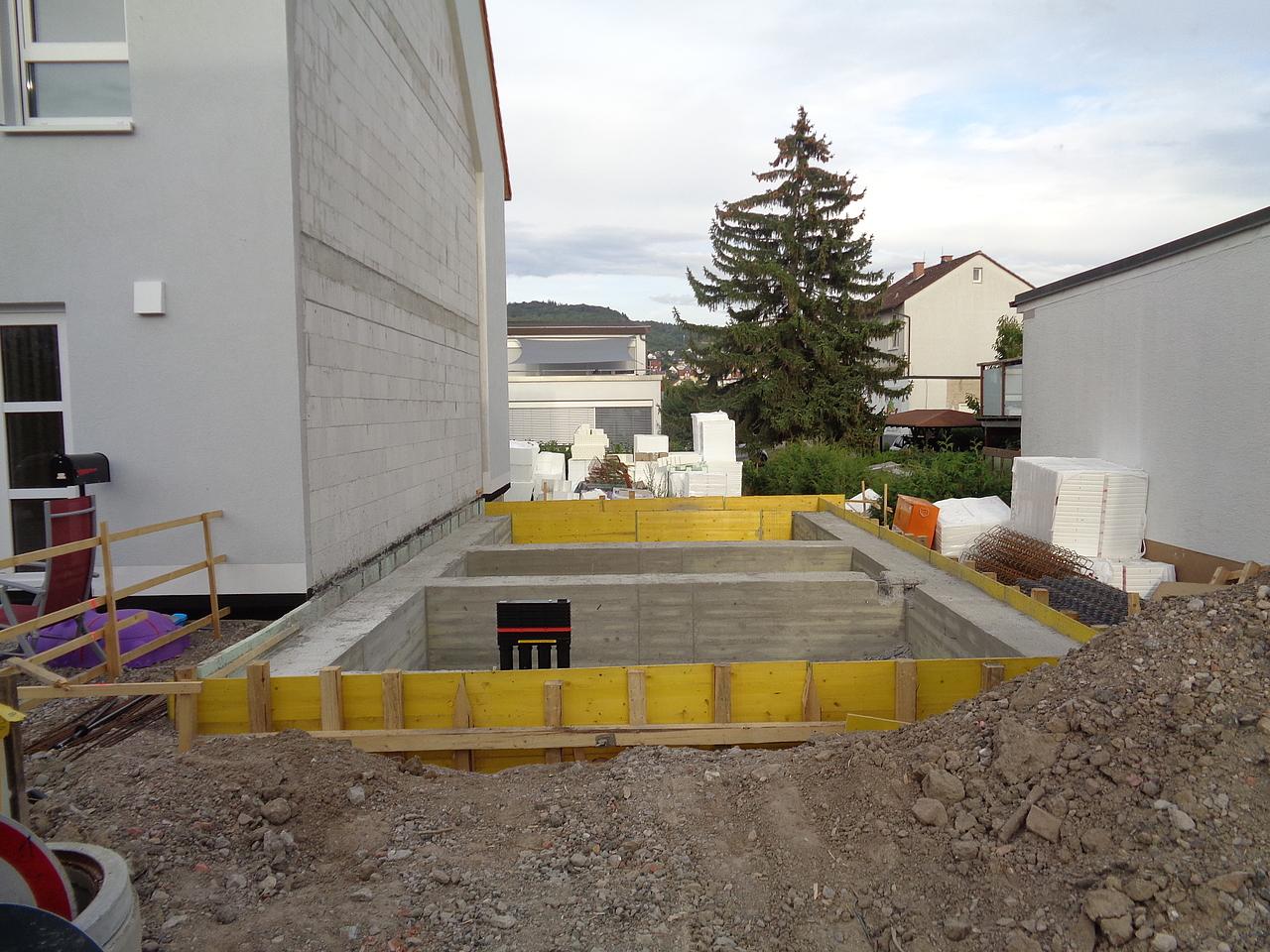 Bautagebuch Doppelhaushälfte in Weinheim mit
