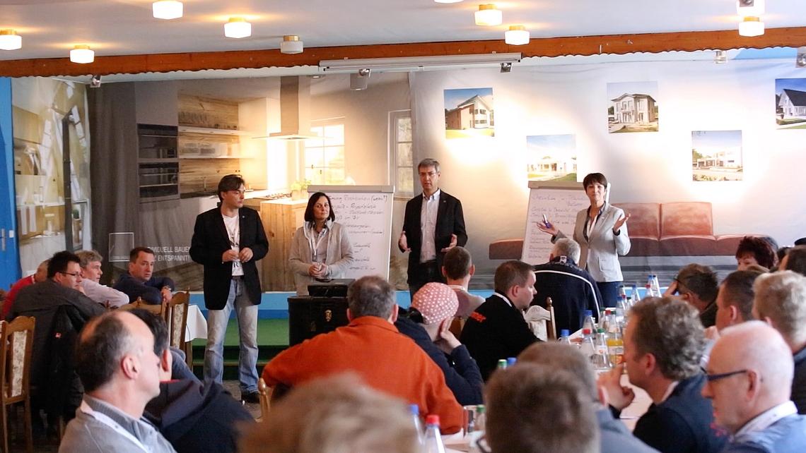 Kern Haus 5 Handwerkertag bei Kern Haus Halle Leipzig