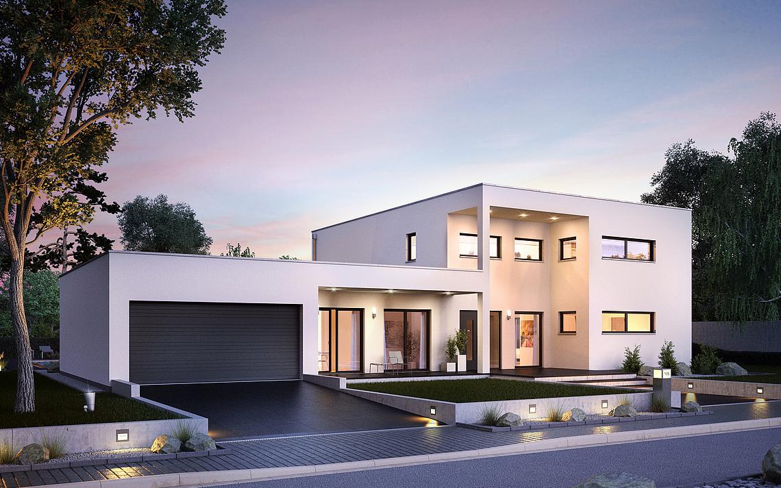 Stadtvilla bauen Ihre Villa in Massivbauweise
