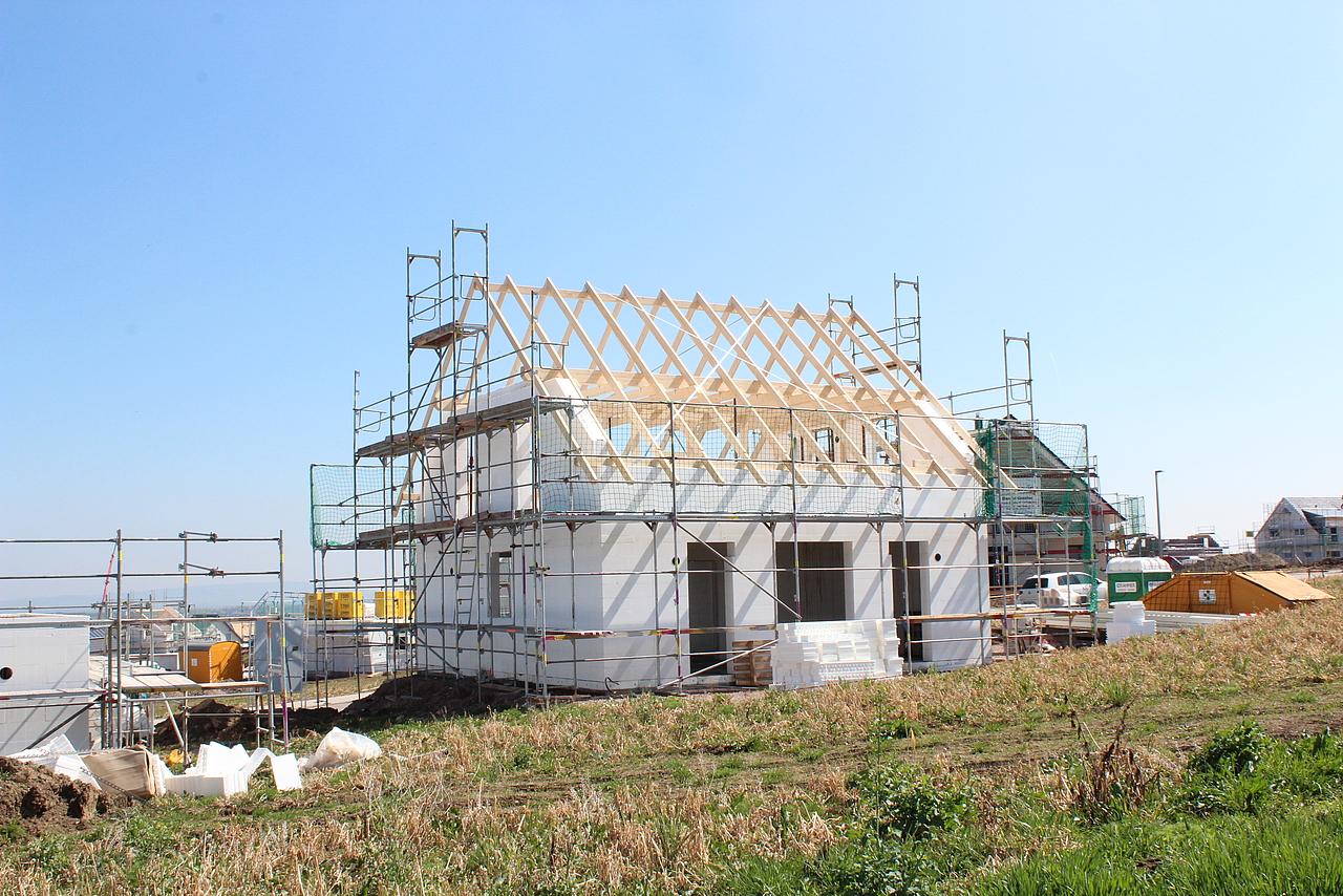 Bautagebuch Modern wohnen in Erfurter Stadtrandlage