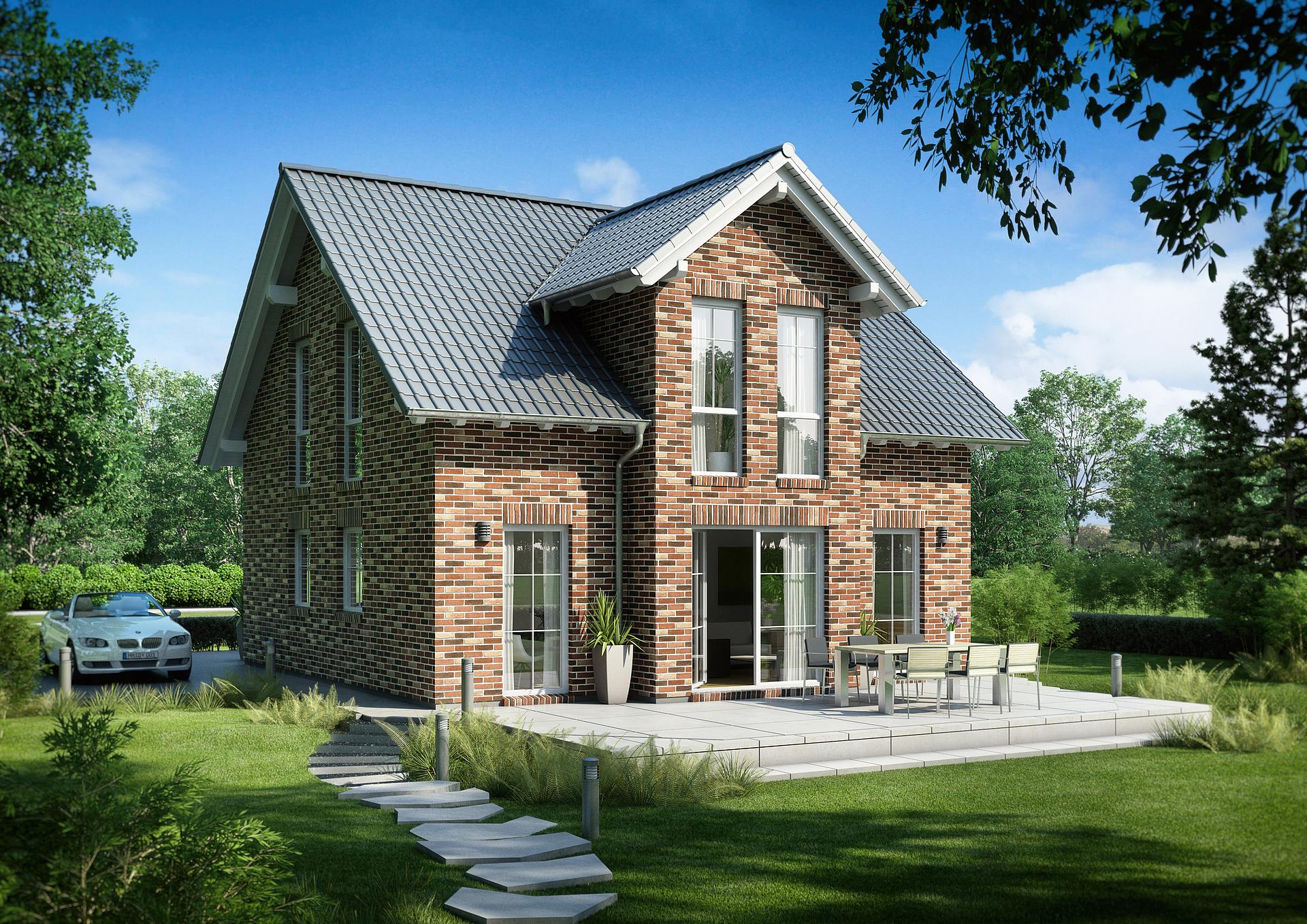 Bevorzugt Familienhaus Esprit Klinker von Kern-Haus   Klinkerfassade WN51