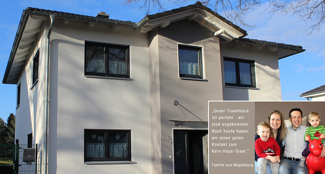 Hausbau mit Kern-Haus | Erfahrungen mit Kern-Haus Magdeburg