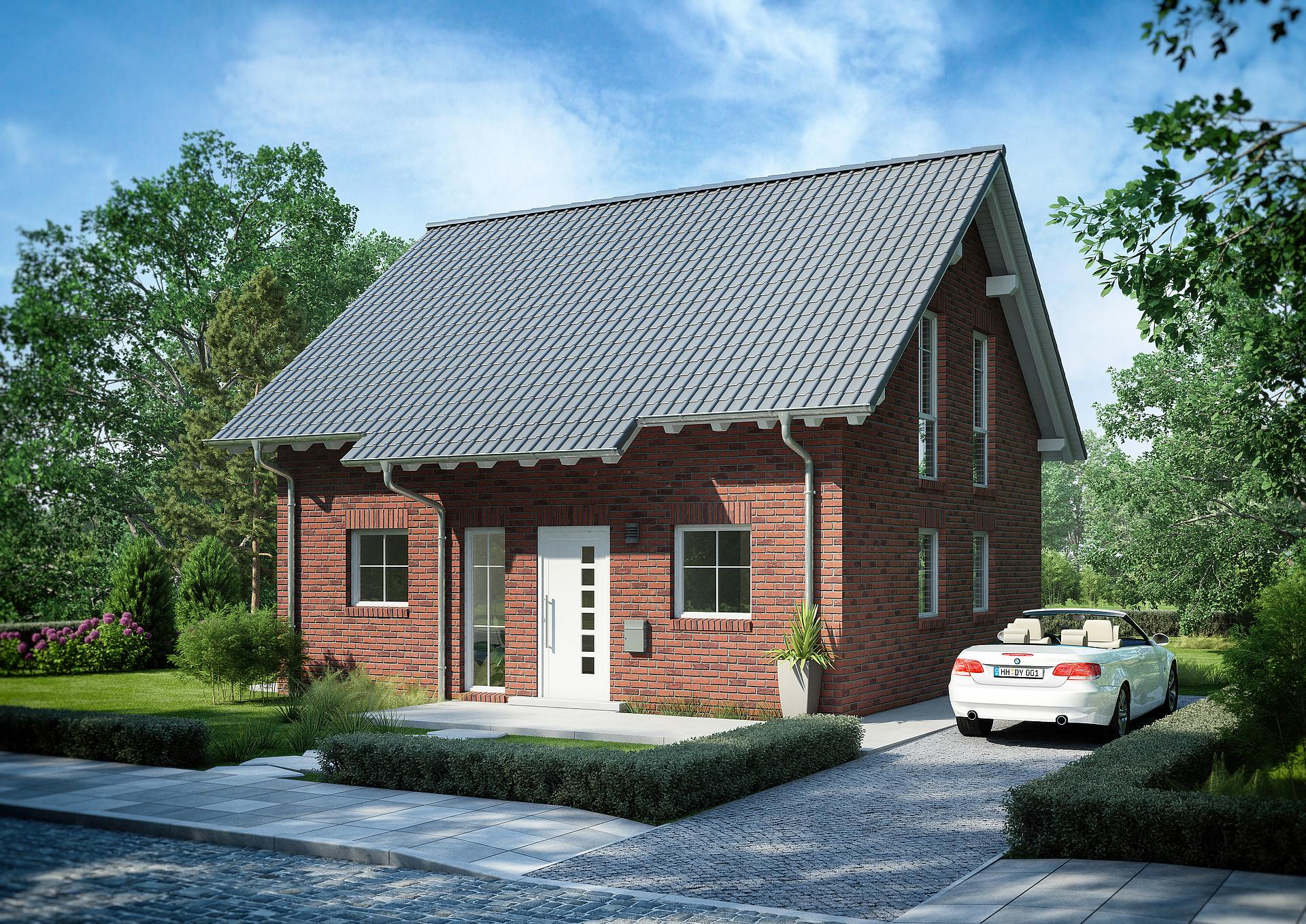 Bevorzugt Familienhaus Esprit Klinker von Kern-Haus   Klinkerfassade GN11