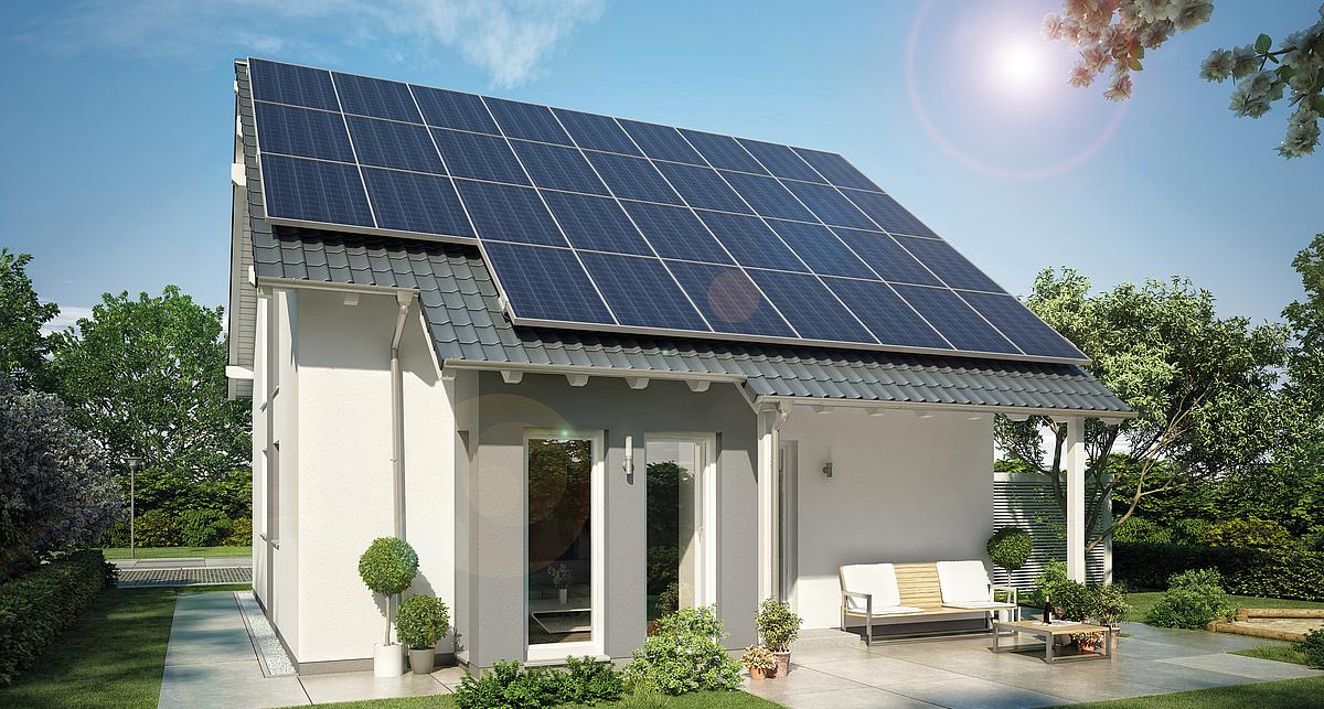 Plusenergiehaus bauen - Energie erzeugen | Kern-Haus