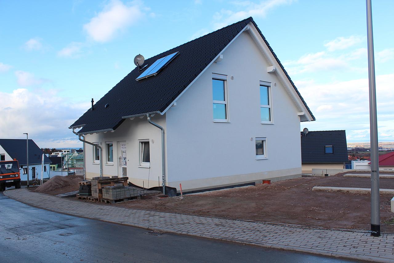 Bautagebuch Klassisches Architektenhaus in Erfurt Marbach