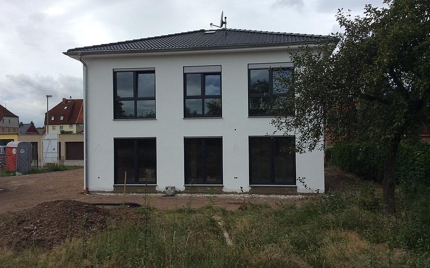Bautagebuch Moderne Stadtvilla in Nordhausen