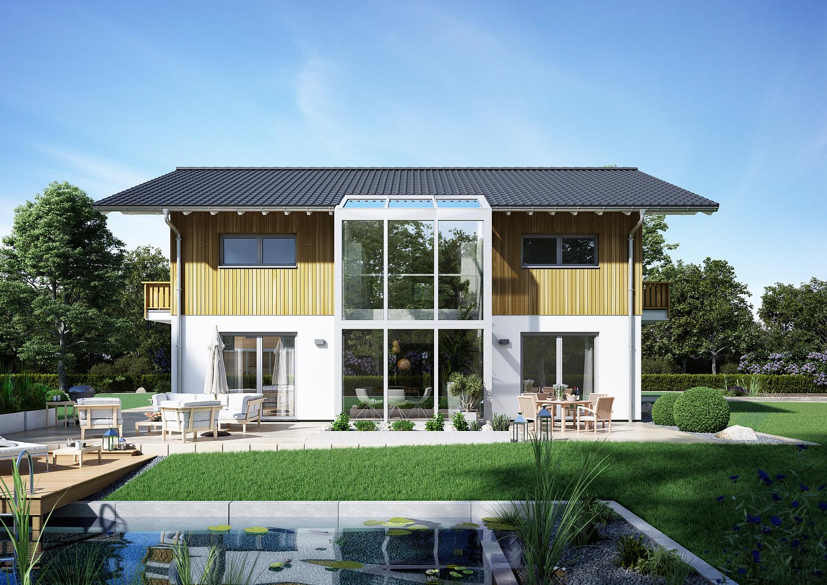 Architektenhaus Apos Wintergarten