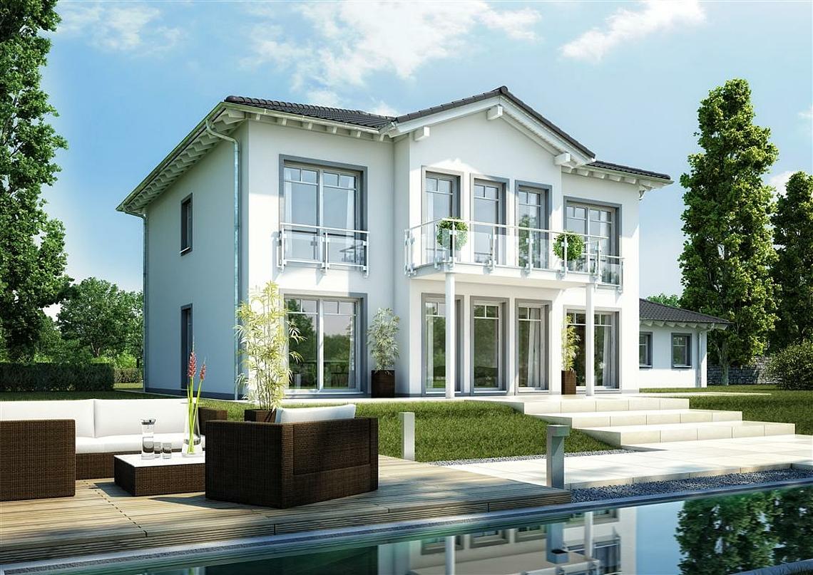 Kern haus luxus pur stadtvilla karat setzt als for Architektur klassisch