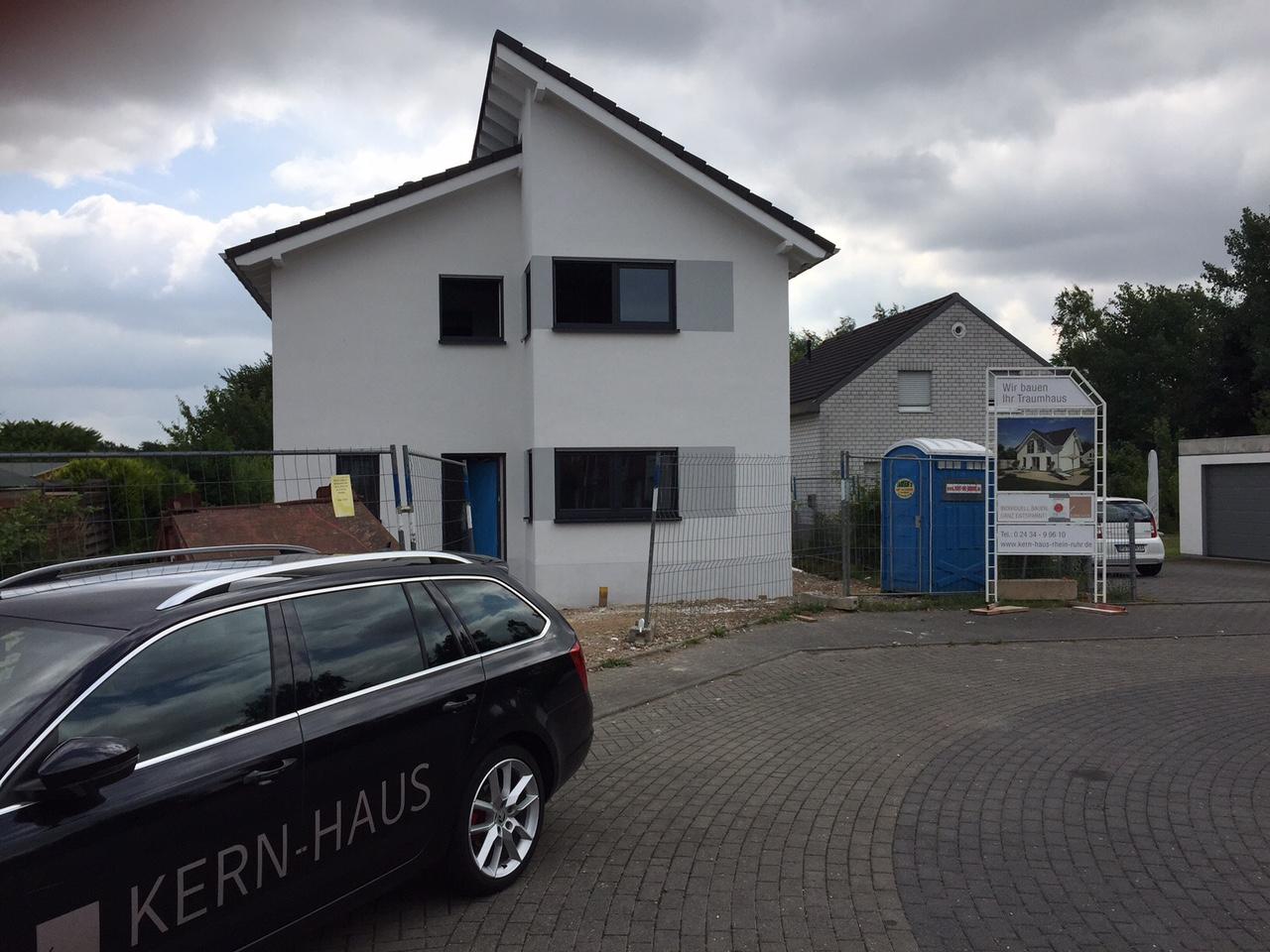 Bautagebuch - Einfamilienhaus der Familie R. in Wegberg