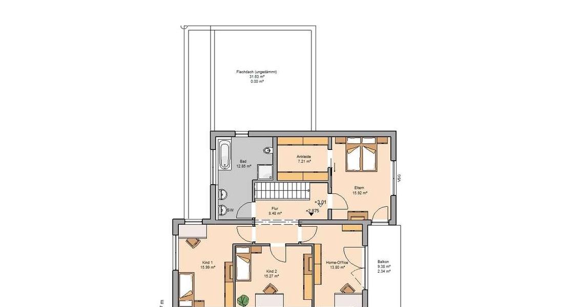 Massivhaus grundriss  Futura Bauhaus von Kern-Haus | Traumhauspreis 2015