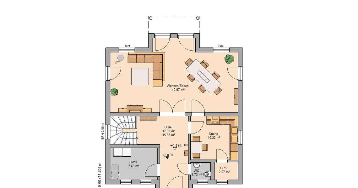 Traumvilla grundriss  Stadtvilla Saphir von Kern-Haus | Ihre persönliche Traumvilla