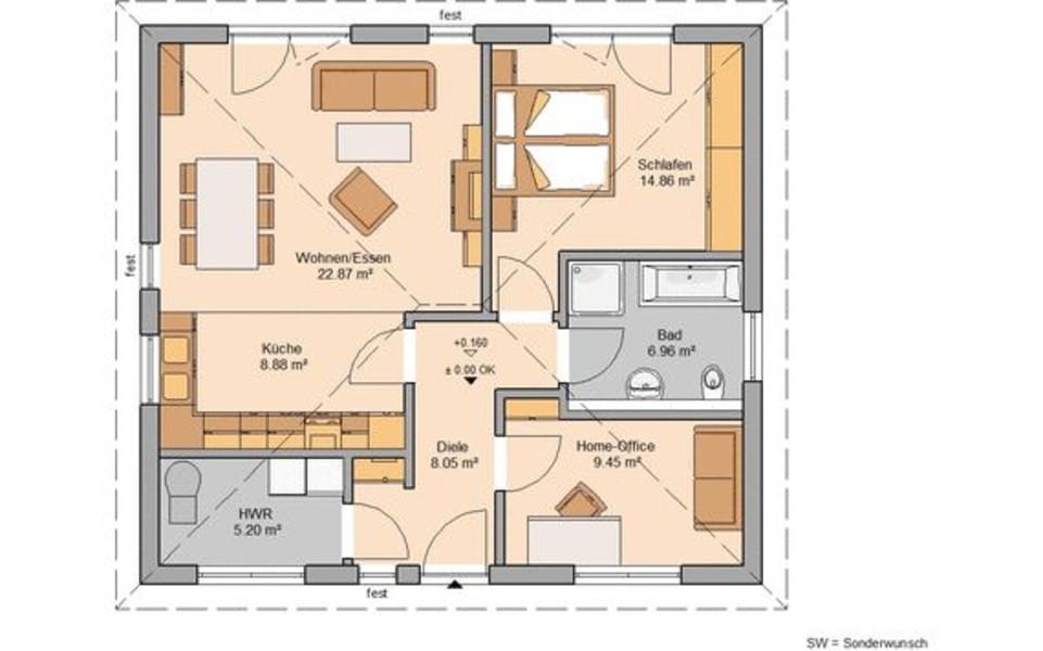 Singlehaus Oder Paarhaus Bauen Kern Haus