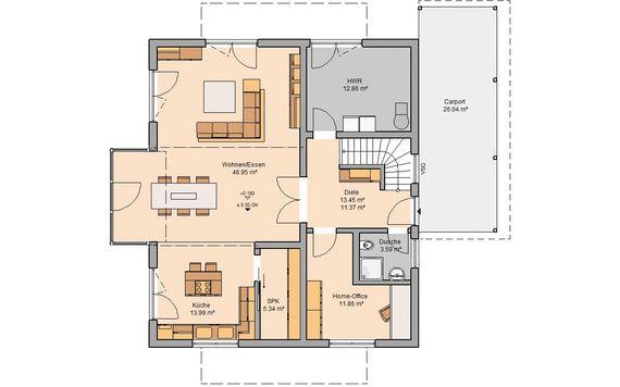Grundriss Haus
