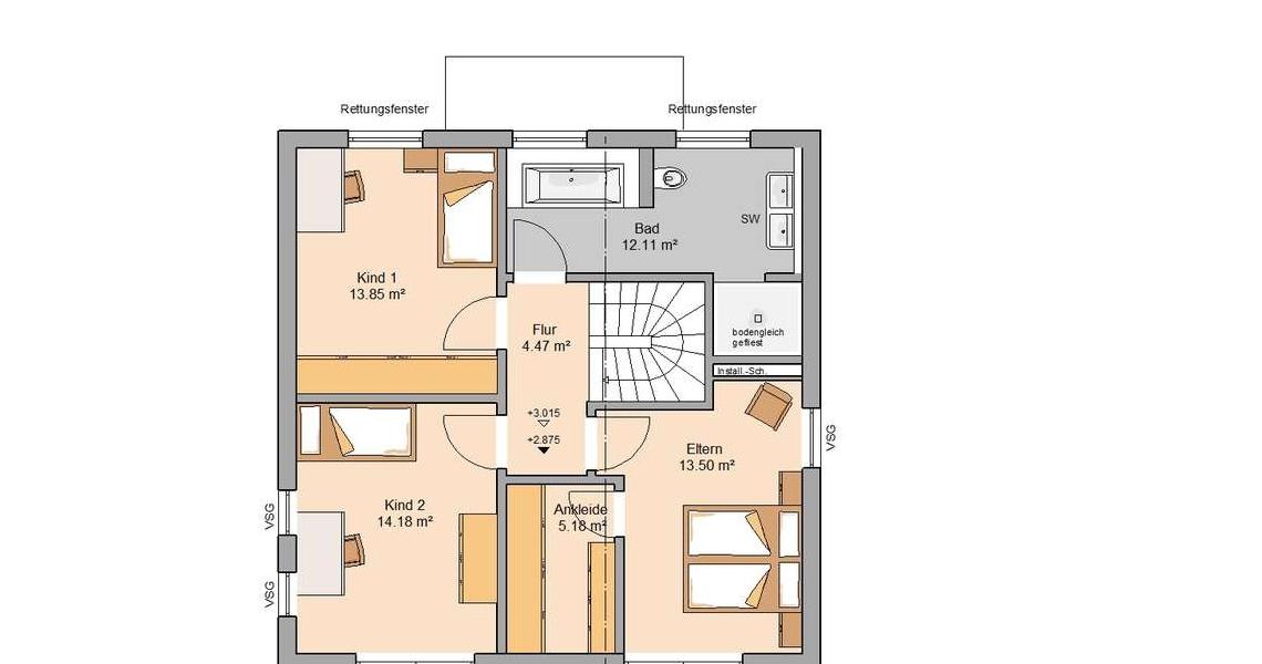 Bauhaus Puro Flachdach Bauen Modernes Architektenhaus