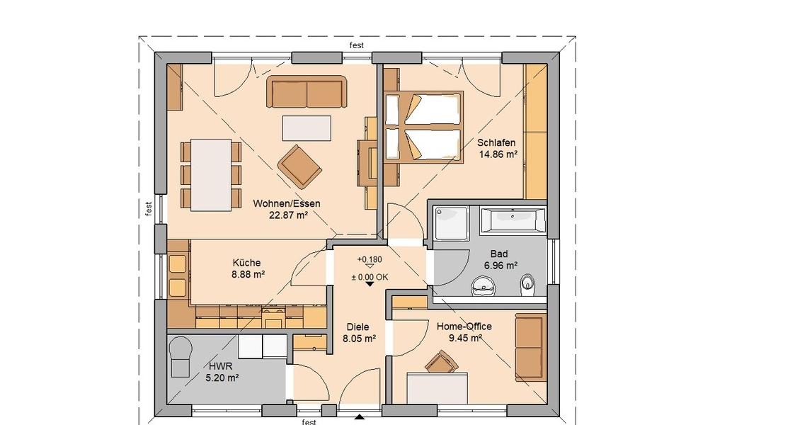 Bungalow Easy Von Kern Haus Kleines Haus Ganz Groß