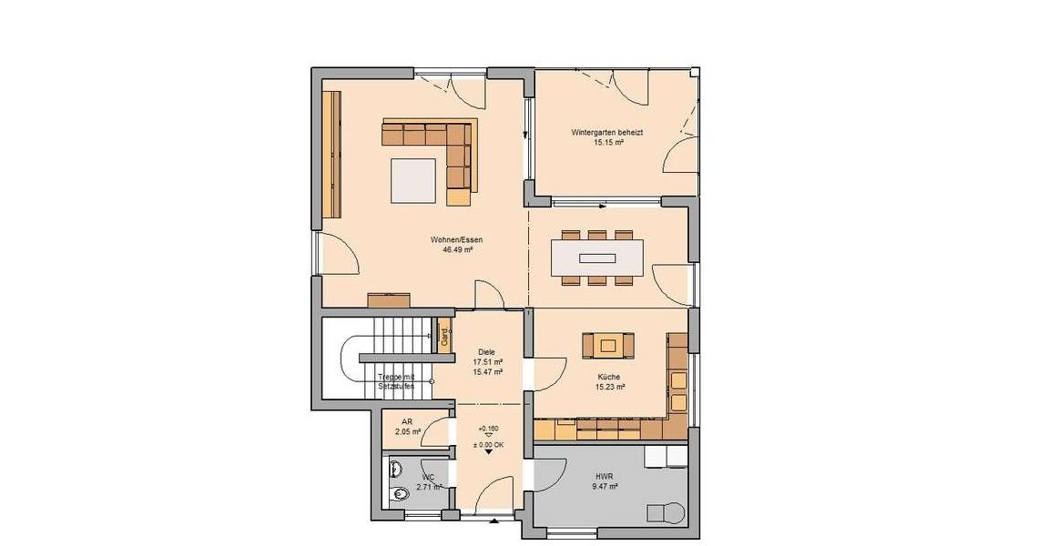 Familienhaus Akzent Von Kern Haus Individuelle Extravaganz